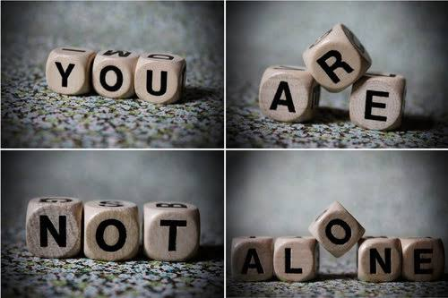 You Are Not Alone In Your Suffering